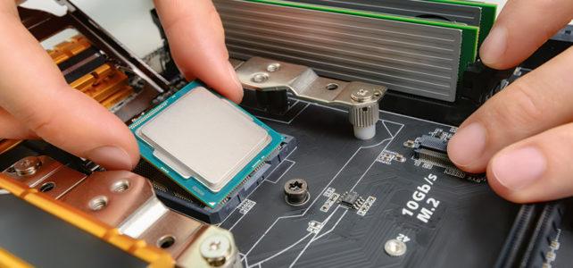 Hardware-Reparatur/-Aufrüstung